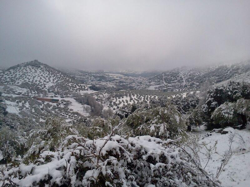 Nieve en Frailes