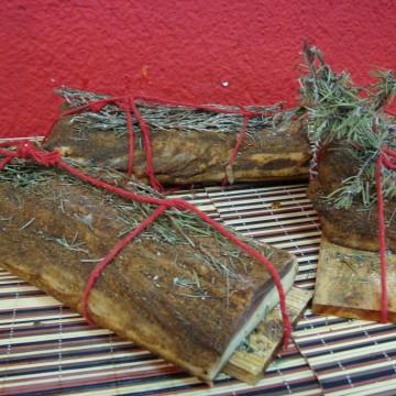 Lomo en tabla al romero