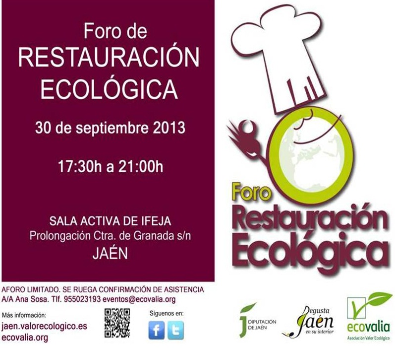 Foro restauración ecológica