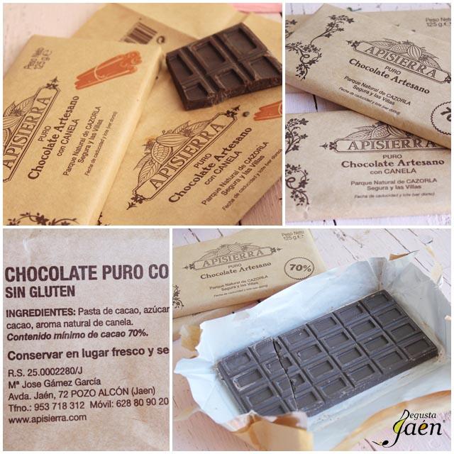Chocolate Apisiserra Degusta Jaén