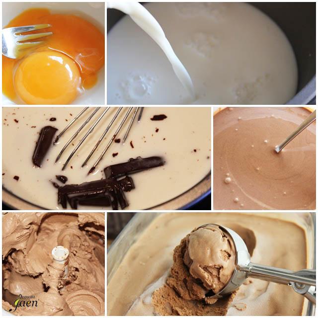 Helado de chocolate Degusta Jaén
