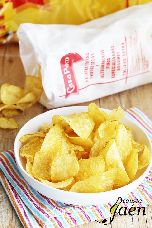 Patatas fritas Casa Paco Cocinar con Degusta Jaén