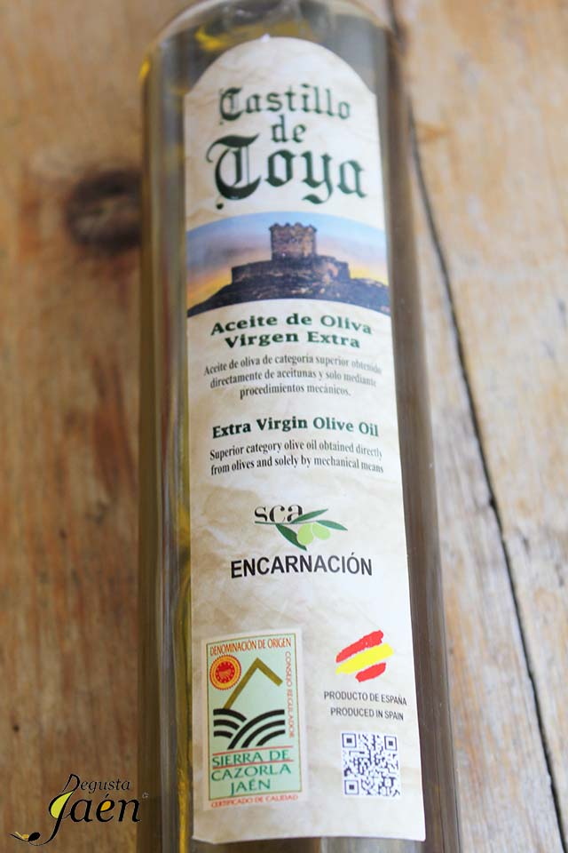 Aceite Castillo de Toya Degusta Jaén