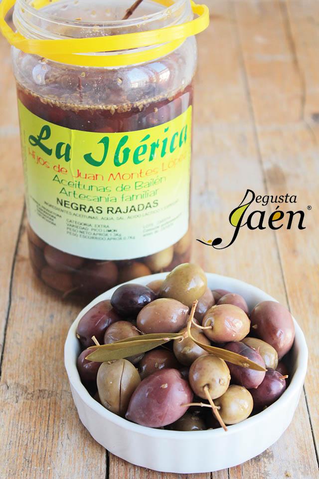 Pan de aceitunas La Ibérica
