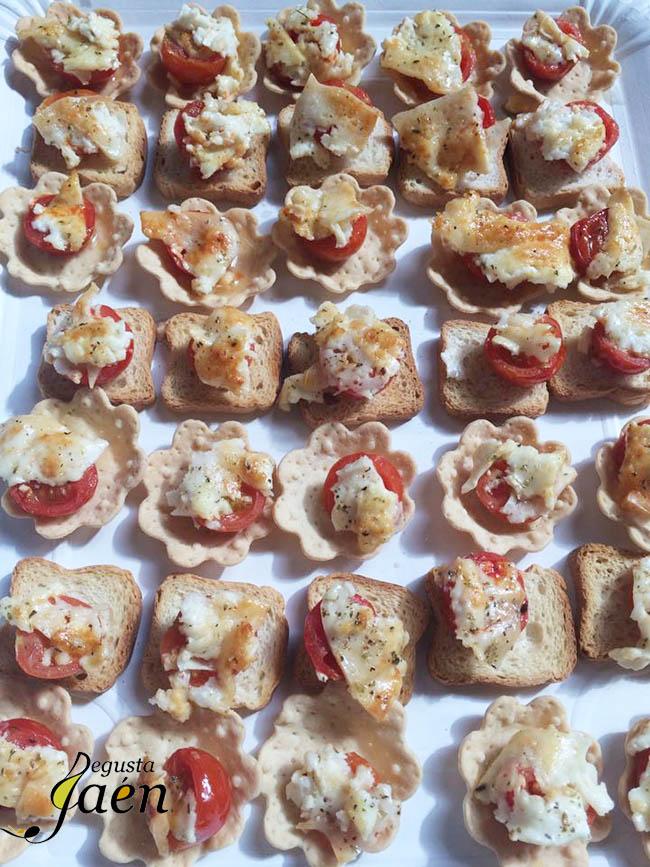 Tomatitos y queso Cumbres del Segura