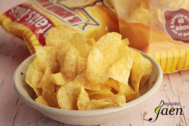 Pollo rebozado en patatas chips  (5)