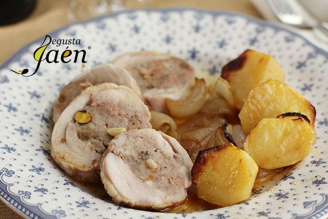 Muslos de pollo rellenos El Lince Degusta Jaén (4)