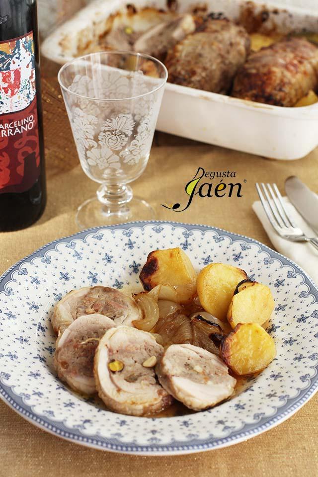 Muslos de pollo rellenos El Lince Degusta Jaén (5)