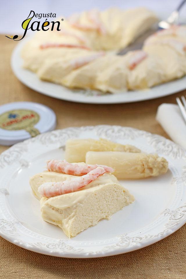 Pastel de espárragos blancos Congana Degusta Jaén (1)