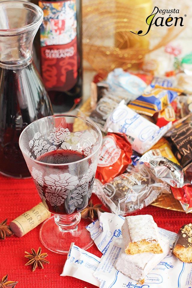 Vino caliente y dulces de Navidad (1)