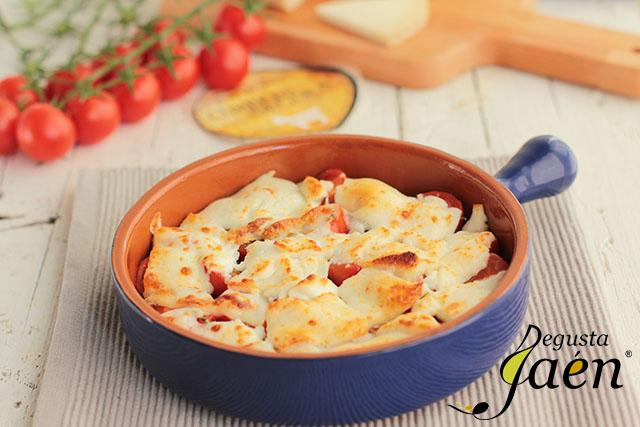 Gratinado de tomates cherries y queso de cabra Degusta Jaén (4)