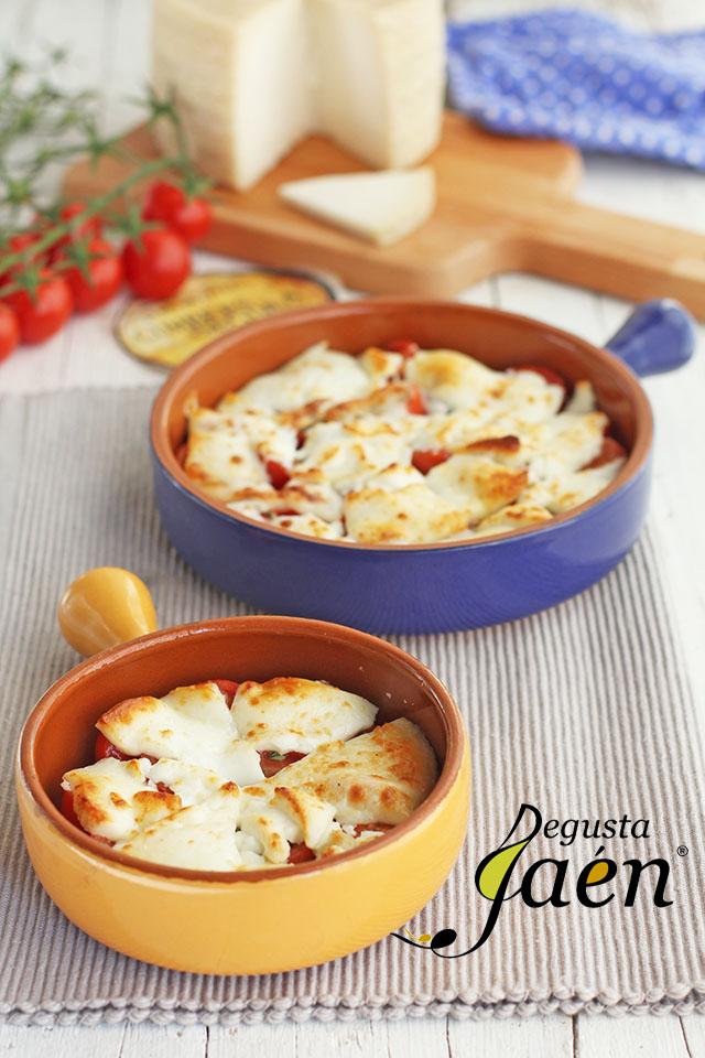 Gratinado de tomates cherries y queso de cabra Degusta Jaén (5)