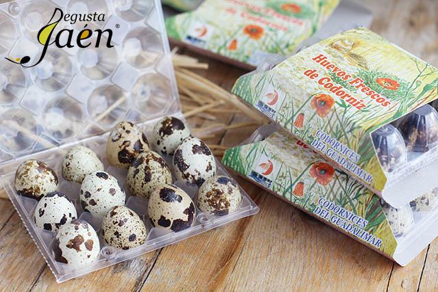 Ensalada templada Huevos de codorniz Guadalimar (4)