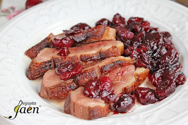 Magret-de-pato-con-cerezas-Degusta-Jaén-(5)
