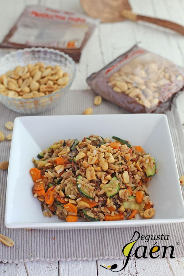 Arroz-con-verduras-y-cacahuetes-Paqui-Degusta-Jaén