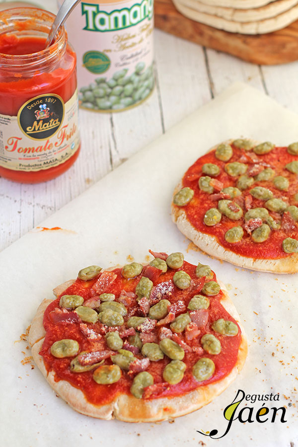 Pizzas-rápidas-tomate-y-habas-Mata-Degusta-Jaén-(2)