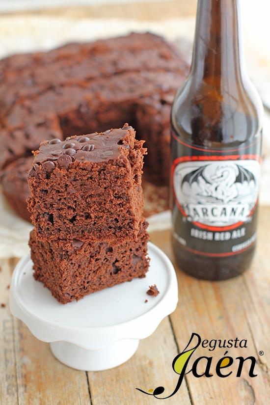 Brownie cerveza Arcana Degusta Jaén (3)