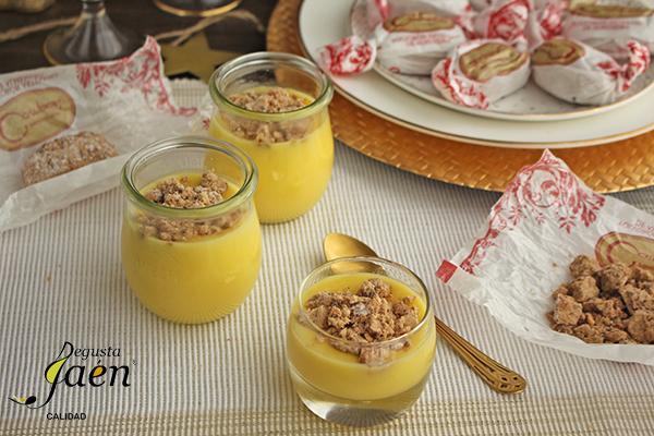 Crema de limon y polvorones Degusta Jaén