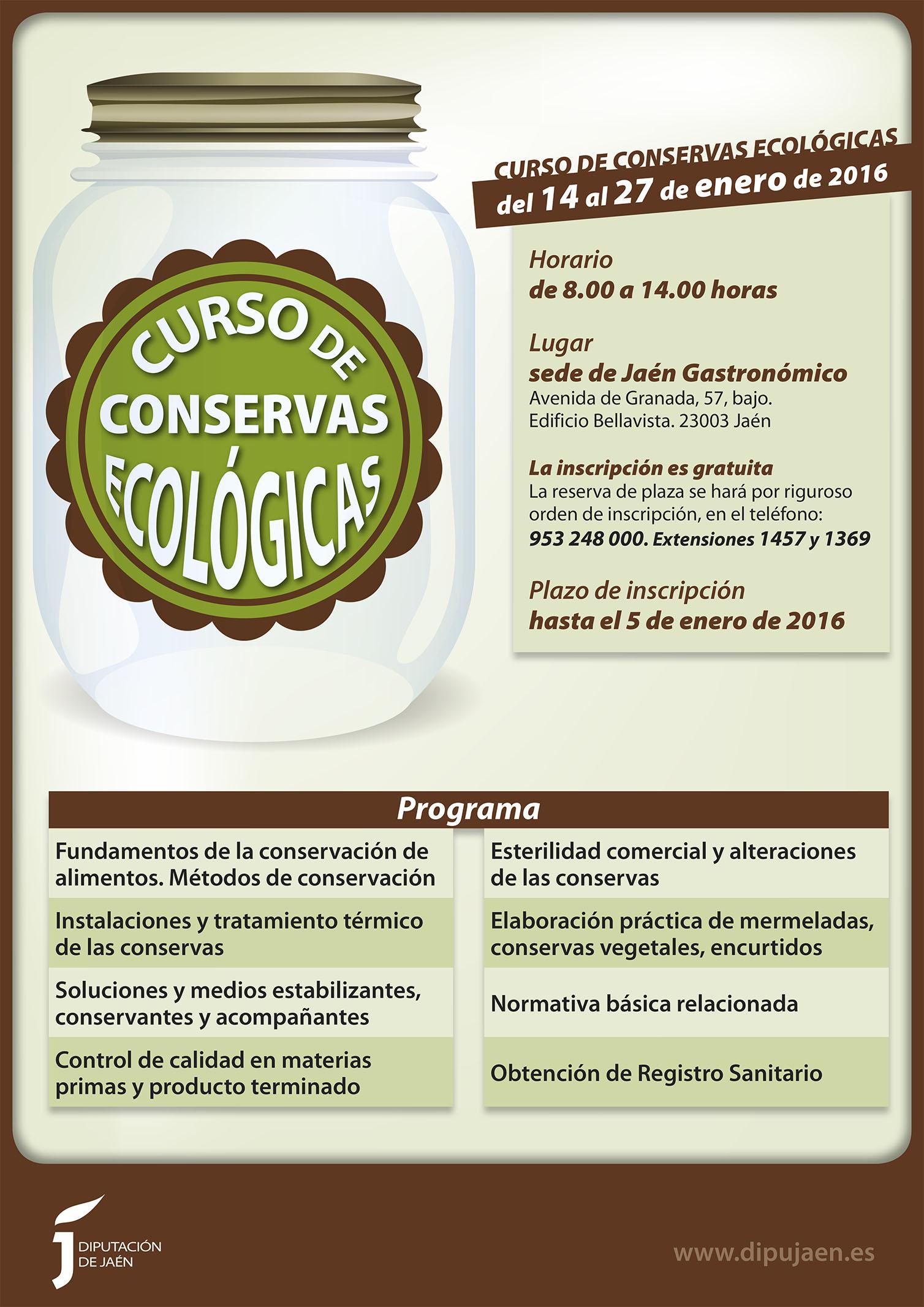 curso conservas ecologicas – cartel-BR