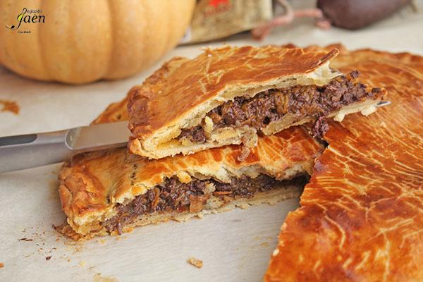 Empanada de morcilla y calabaza Degusta Jaen (1)