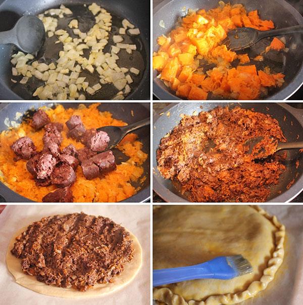 Empanada de morcilla y calabaza Degusta Jaen (4)