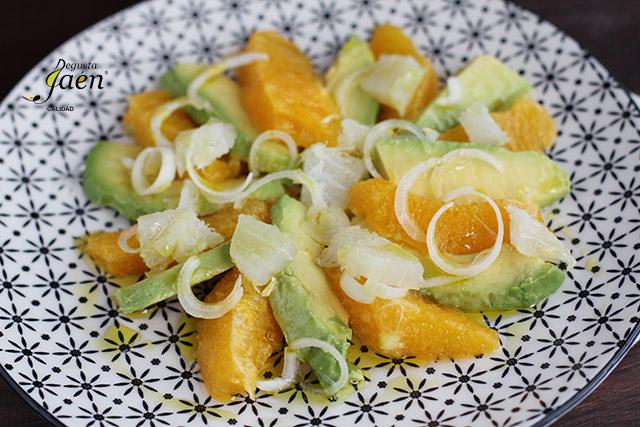 Ensalada de naranja y bacalao Degusta Jaén (1)