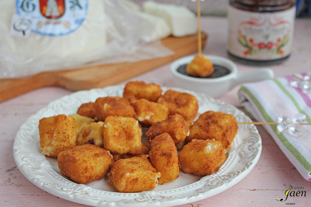 Queso de Frailes frito