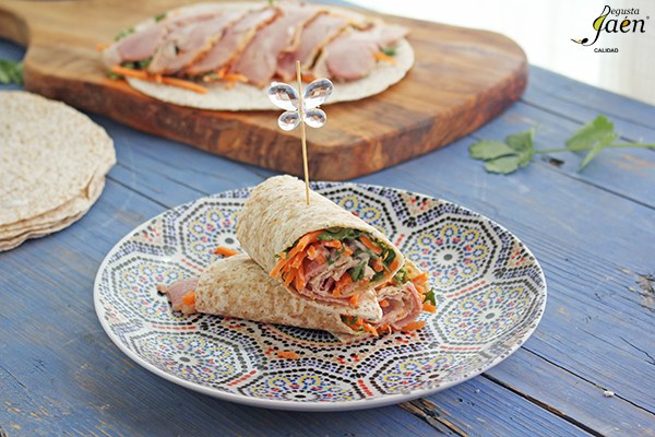 Wraps de pavo saludable Degusta Jaen (1)