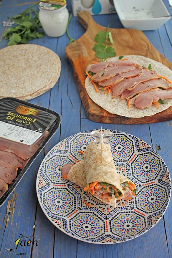 Wraps saludable Degusta Jaen