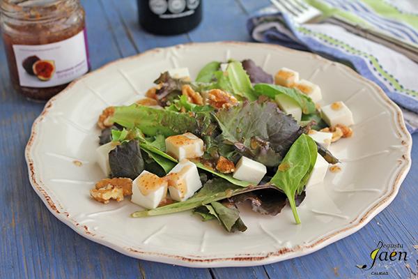 Ensalada queso, nueces, higos Degusta Jaen (2)