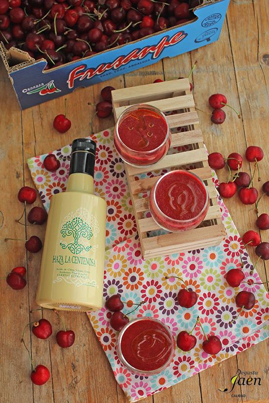 Gazpacho de cerezas Degusta Jaen