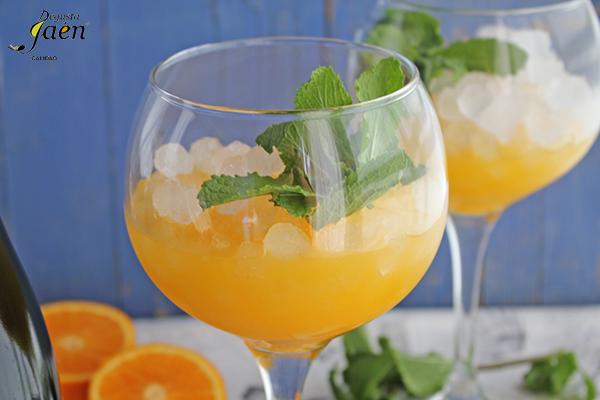 Coctel naranja y matahermosa Degusta Jaen