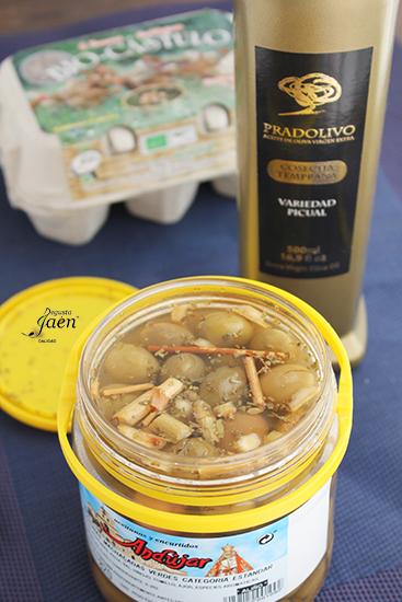 Ensalada de verano con aceitunas Degusta Jaen (2)