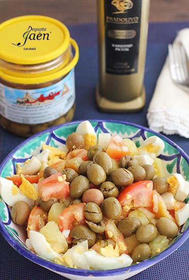 Ensalada de verano con aceitunas Degusta Jaen (5)
