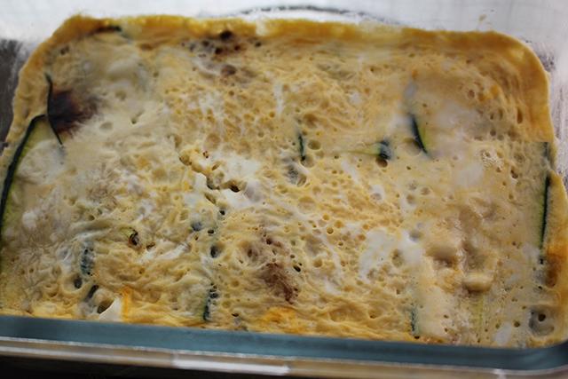 Lasaña de calabacin con pavo y queso Degusta Jaen (3)