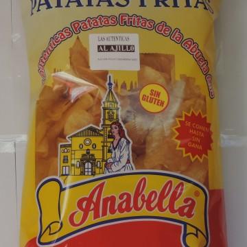 Patatas fritas Anabella ajillo