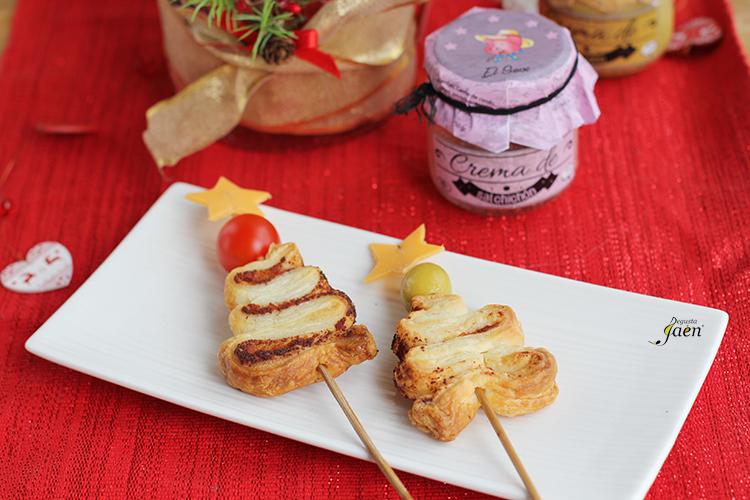 Arbolitos navidad crema salchichon El Sevi Degusta Jaen
