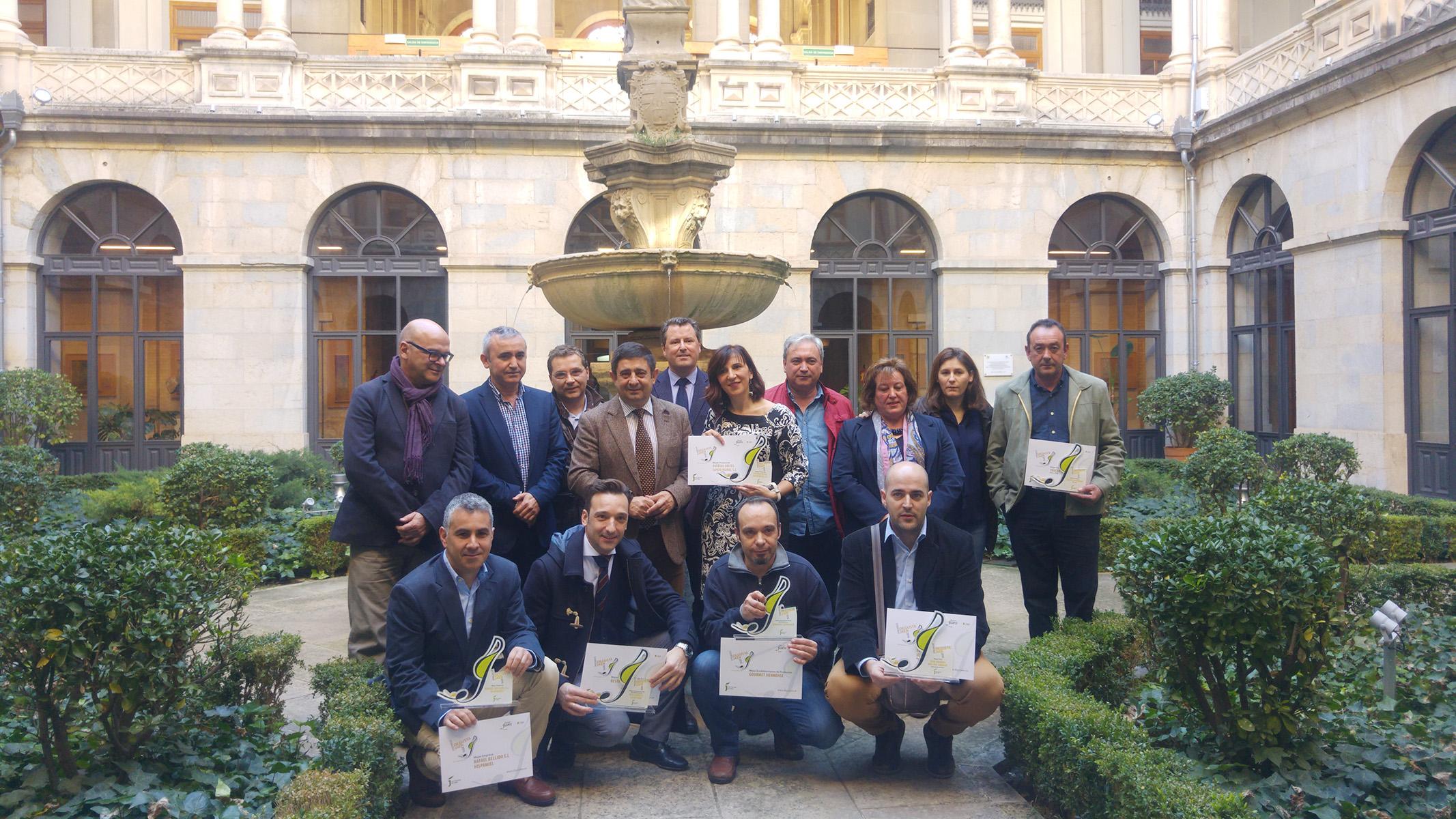 Premios Degusta Jaen 2016 Foto familia