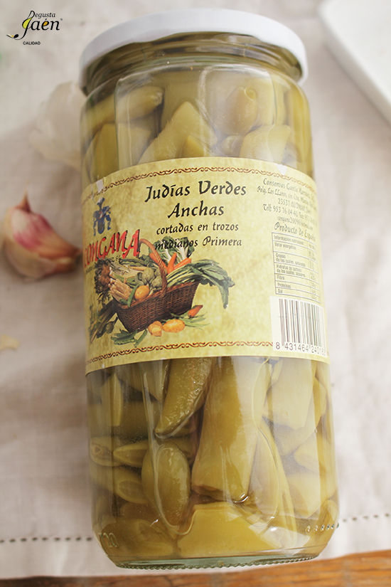 Judias verdes Congana Degusta Jaen
