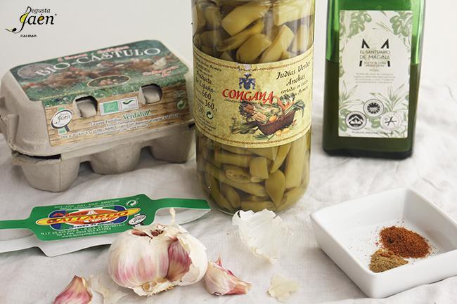 Judias verdes Degusta Jaen Ingredientes