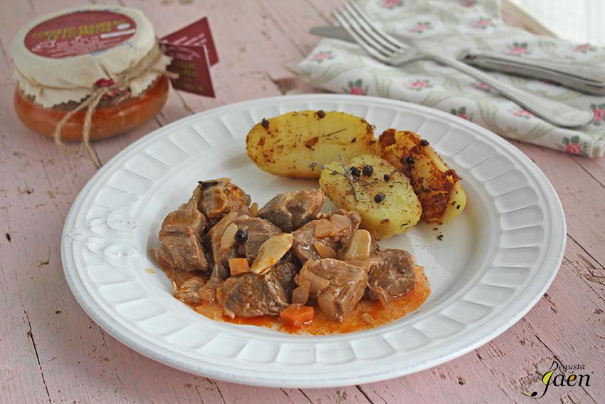 Cordero segureño con patatas al romero Degusta Jaen