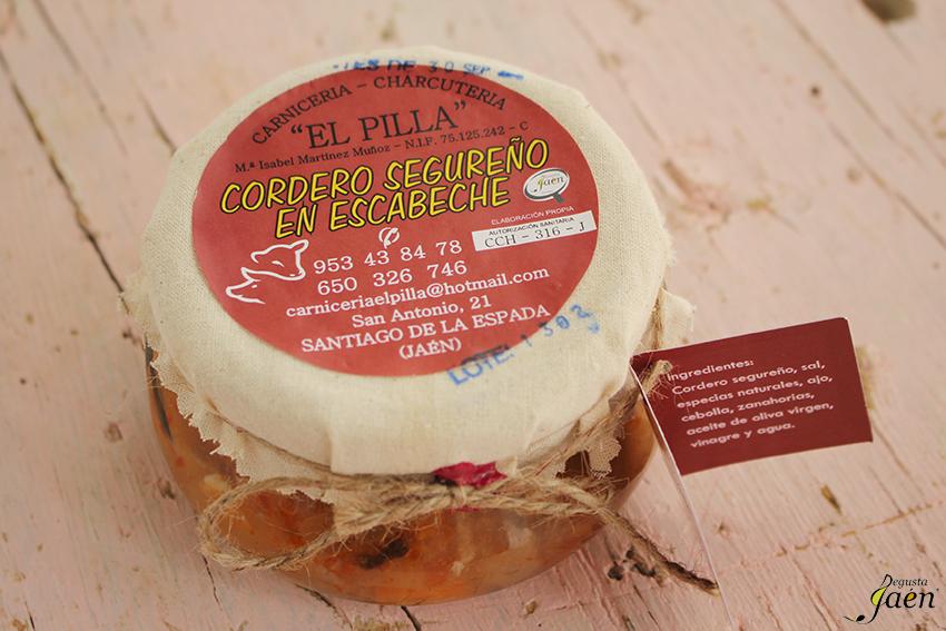 Cordero segureño en escabeche El Pilla Degusta Jaén