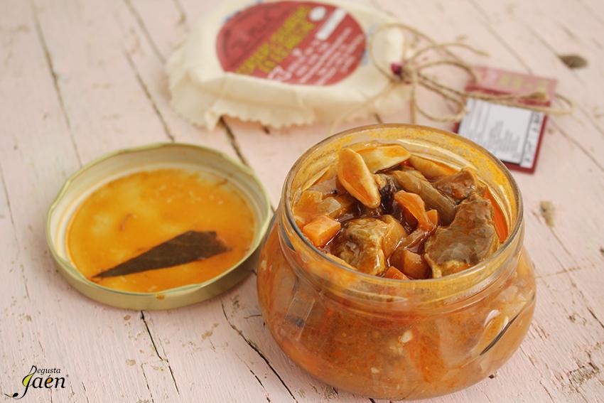 Escebeche de cordero segureño Degusta Jaen