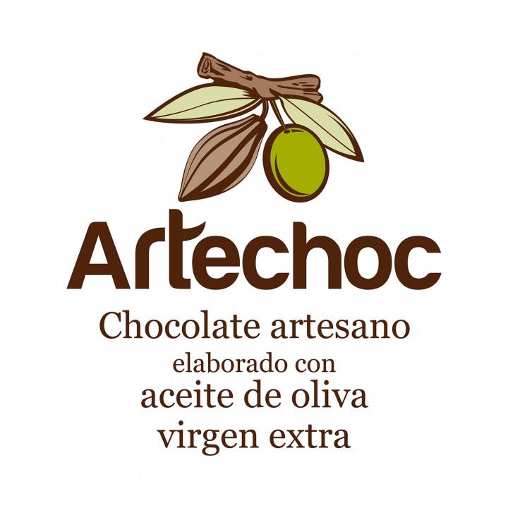 Artechoc logo con virgen extra