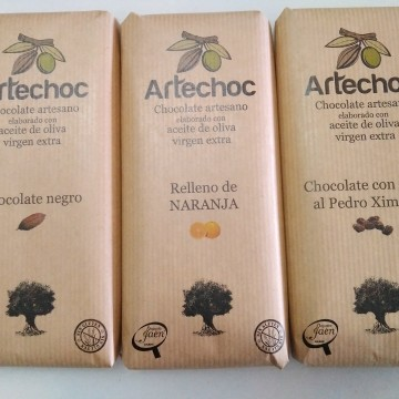 Tabletas chocolate Artechoc