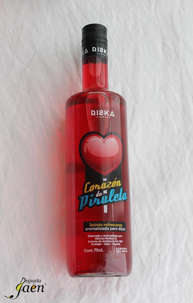 Brazo de gitano corazón de piruleta Degusta Jaen Licor Riska (2)