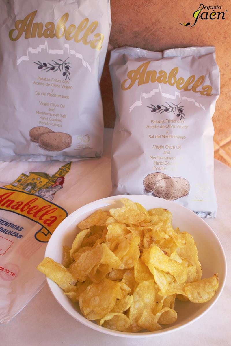Patatas fritas Degusta Jaen Alcala la Real