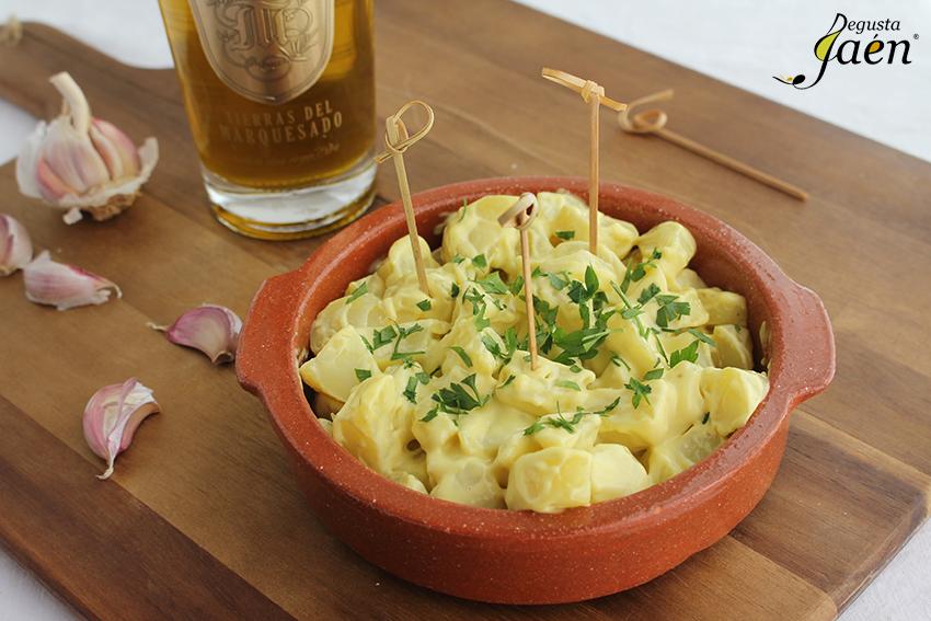 Patatas con alioli de aove Degusta Jaen (4)