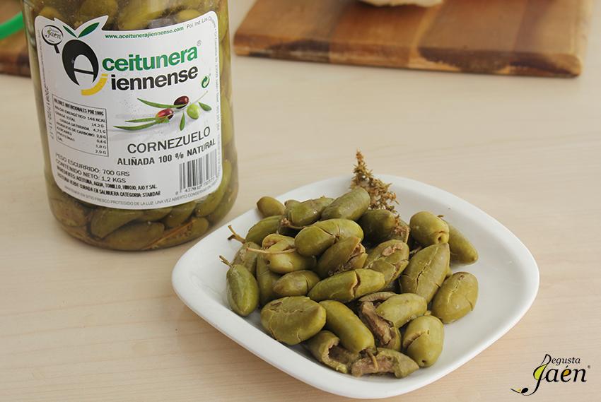 Aceitunas de cornezuelo Degusta Jaen