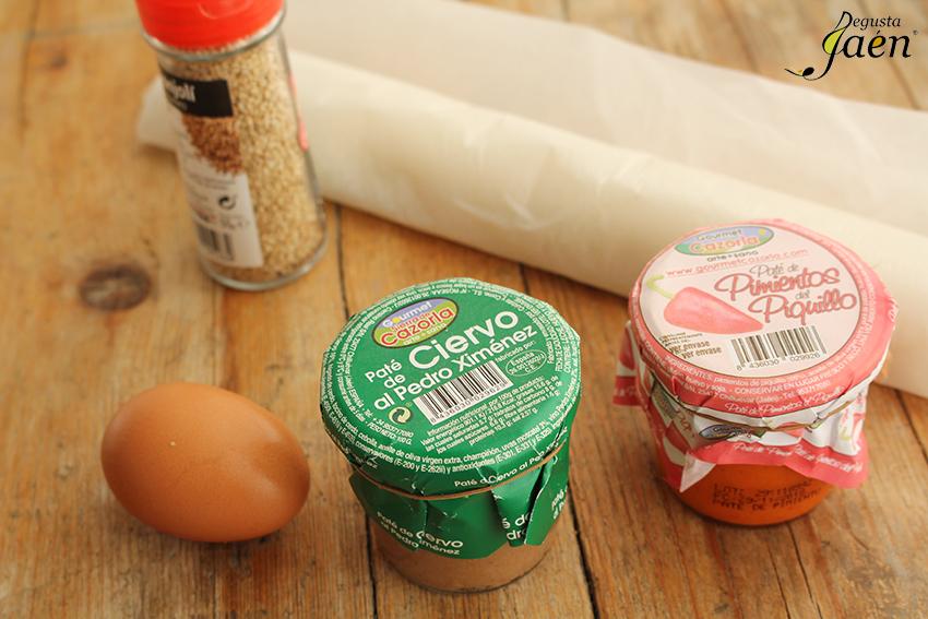 Saladitos de pate Degusta Jaen Ingredientes